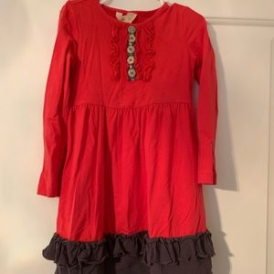 Red Matilda Jane dress